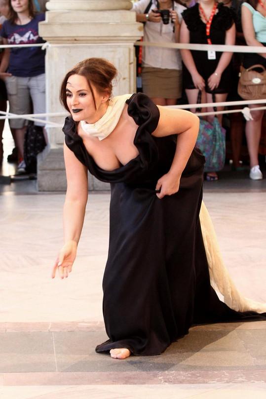 Čvančarová patří k našim nejvíc sexy herečkám.