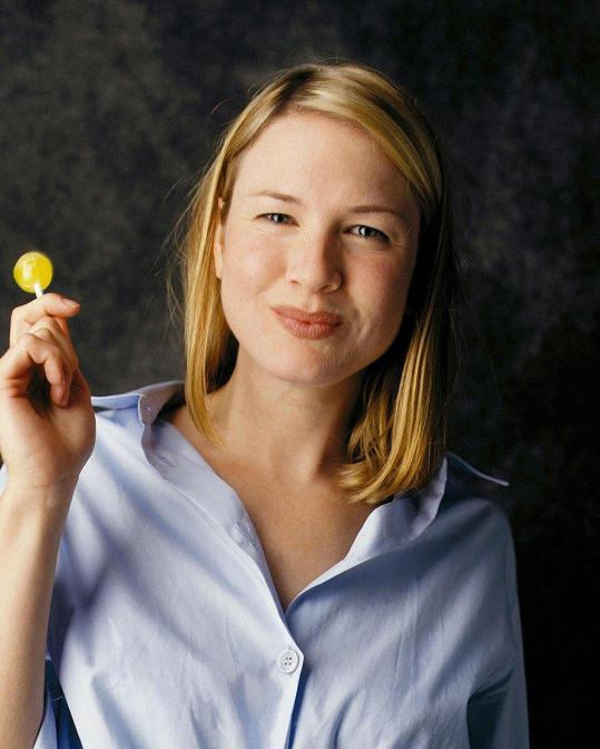 Renée Zellweger ve filmu Deník Bridget Jonesové (2001)