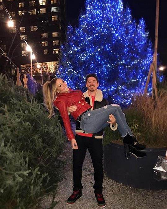 Mariah je pro Bryana tím nejlepším vánočním dárečkem.