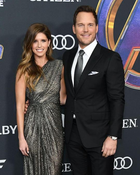 Katherine čeká své první dítě s manželem Chrisem Prattem.