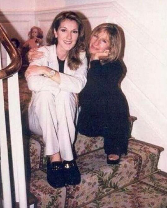 Barbra Streisand a Céline Dion
