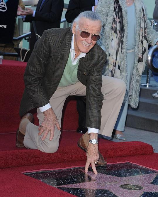 V roce 2011 se Stan Lee dočkal hvězdy na Hollywoodském chodníku slávy.