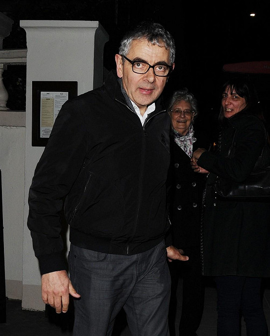 Rowan se přišel podívat na koncert své dcery.