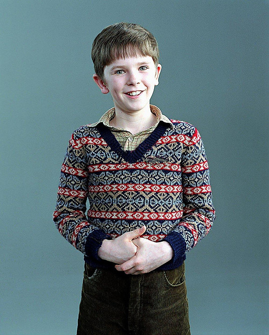 Freddie Highmore jako Karlík