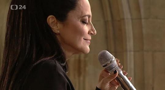 Lucie Bílá zazpívala Ave Maria