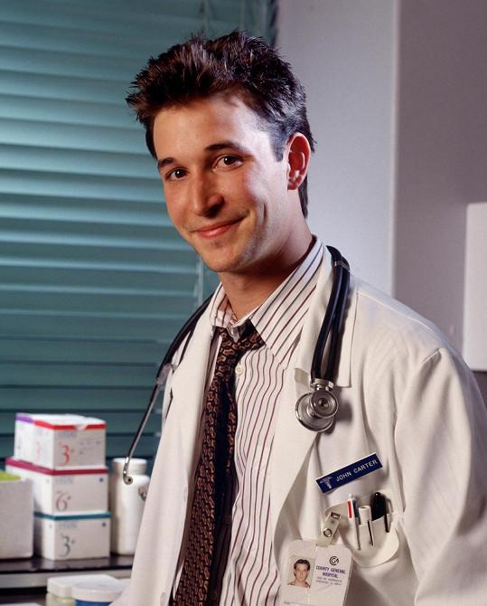 Noah Wyle v seriálu Pohotovost