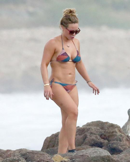 Hilary Duff se před pár dny vrátila z dovolené v Mexiku.