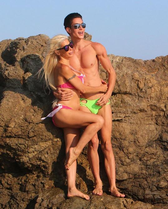 Frenchy a Marek Jedlica si hráli na Barbie a Kena.