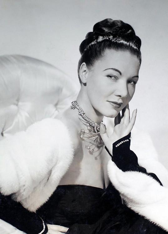 Tao Porchon na snímku z roku 1950
