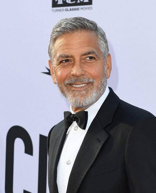 George Clooney je bez hvězdy.