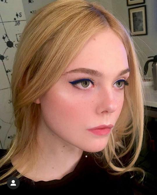 Takhle vypadá s make-upem.