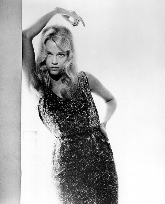 Jane Fonda je na 50 let staré fotce opravdu krásná.