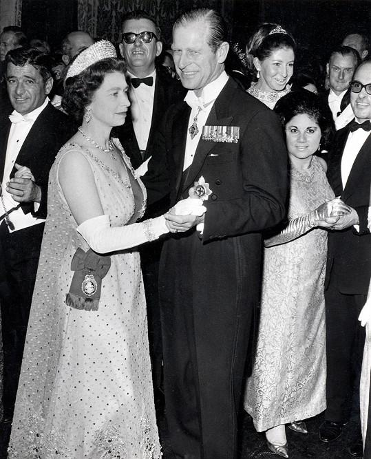 Při návštěvě Malty v roce 1967