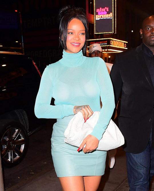 Rihanna vyrazila na Broadway.