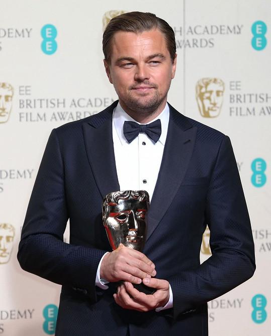 Leonardo DiCaprio se svou cenou BAFTA
