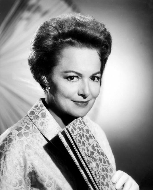 Herečka patřila mezi hvězdy zlatého věku Hollywoodu.