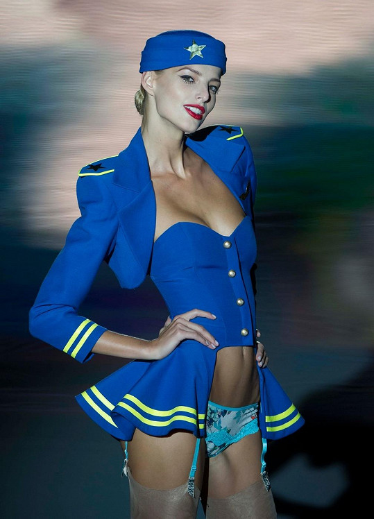 Michaela Kociánová má za sebou už i přehlídku pro Victoria's Secret.