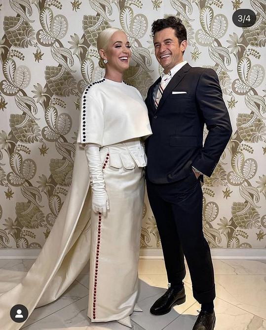 Katy a Orlando jsou hrdí rodiče.