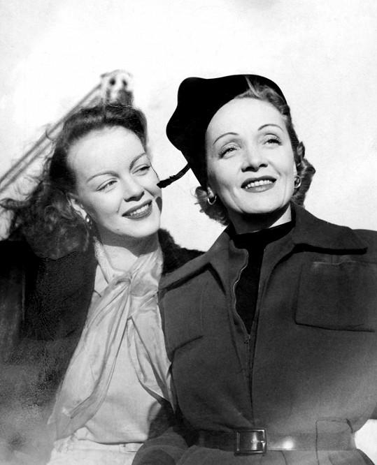 Marlene a její jediná dcera Maria Riva