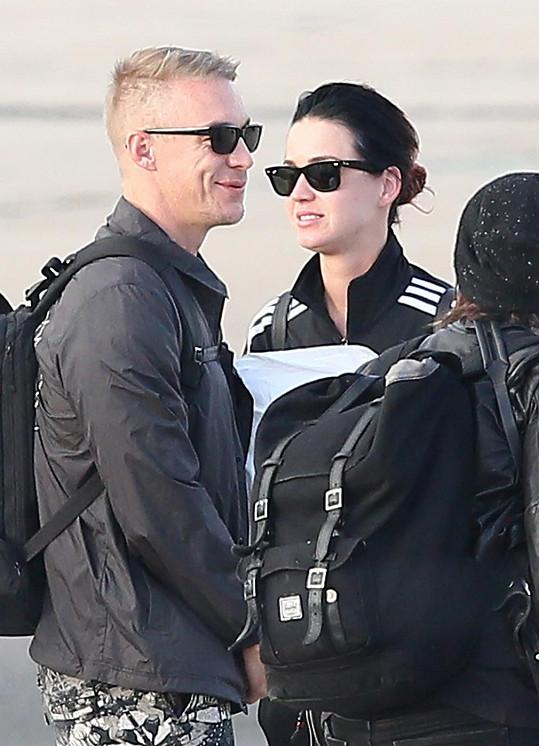 Katy Perry s přítelem Diplem