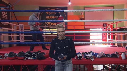 Hana Mašlíková v akci