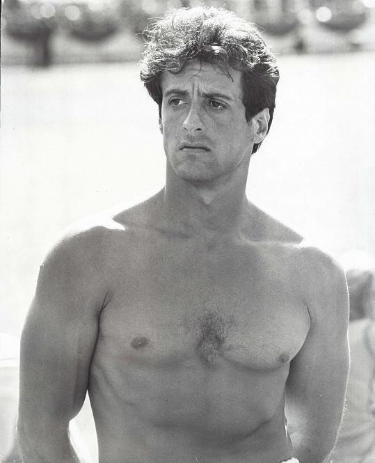 Sylvester Stallone na archivním snímku