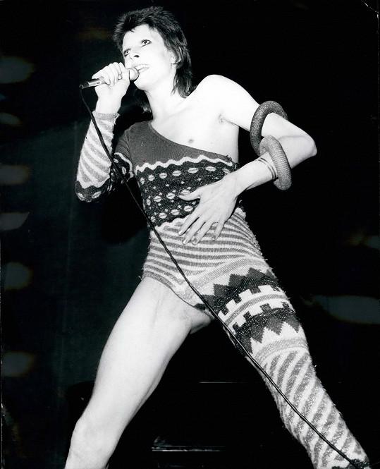 David Bowie měl slabost pro výstřední outfity.