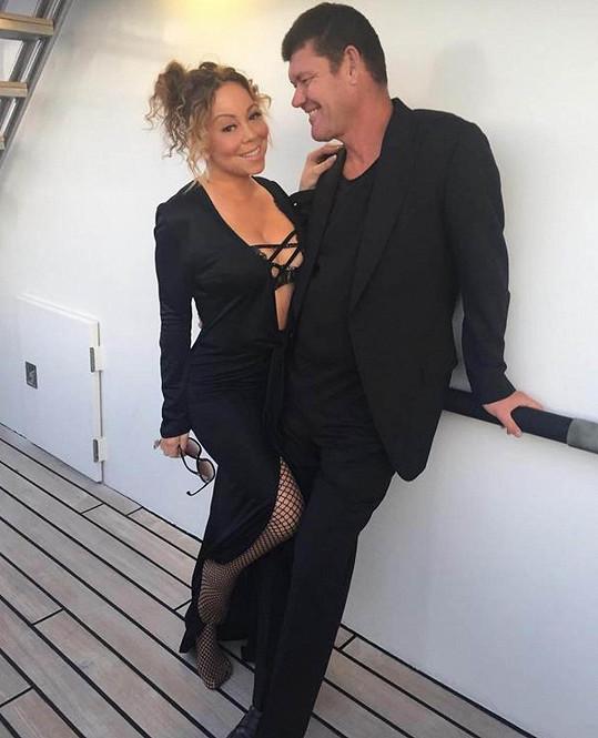 Packerovi došla s Mariah trpělivost.