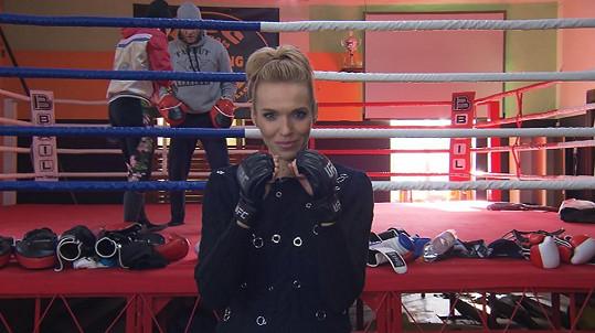 Hana Mašlíková je teď reportérkou pořadu Sport Star