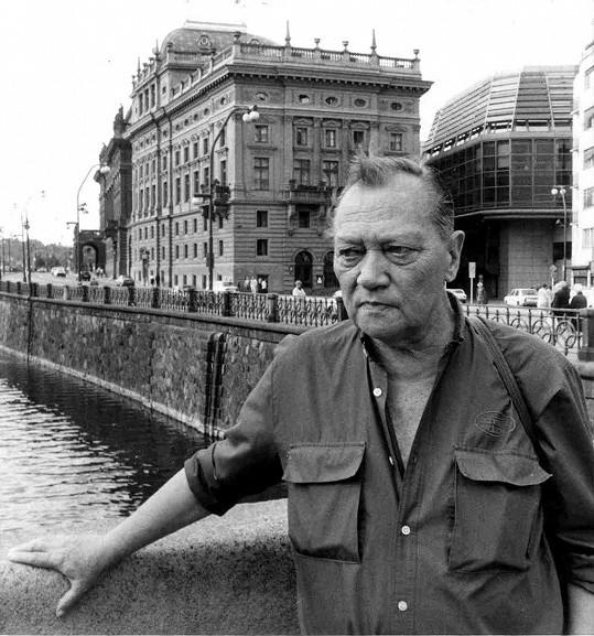 Rudolf Hrušínský pochází ze slavné herecké rodiny.