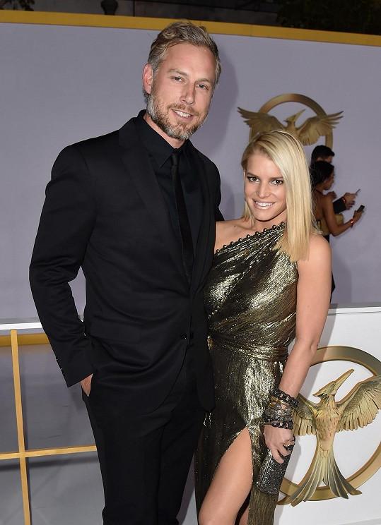 Jessica s manželem Ericem