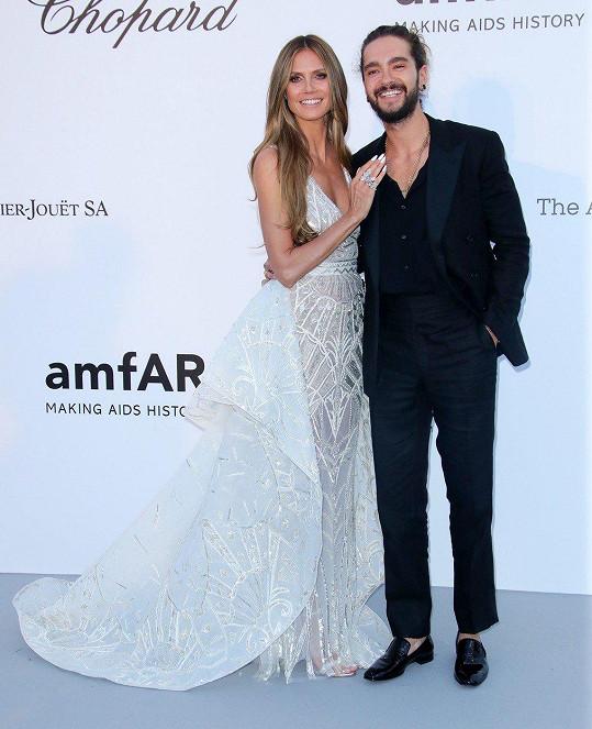 Gala v Cannes byla jejich první společenská akce, kam zavítali jako pár.