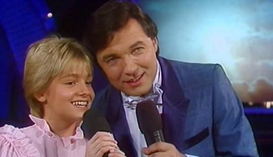 Karel a Darina v roce 1984...