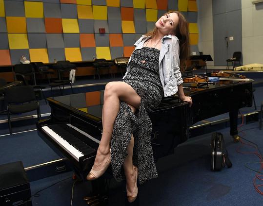 Ivana Korolová už se těší na první muzikálové zkoušky.