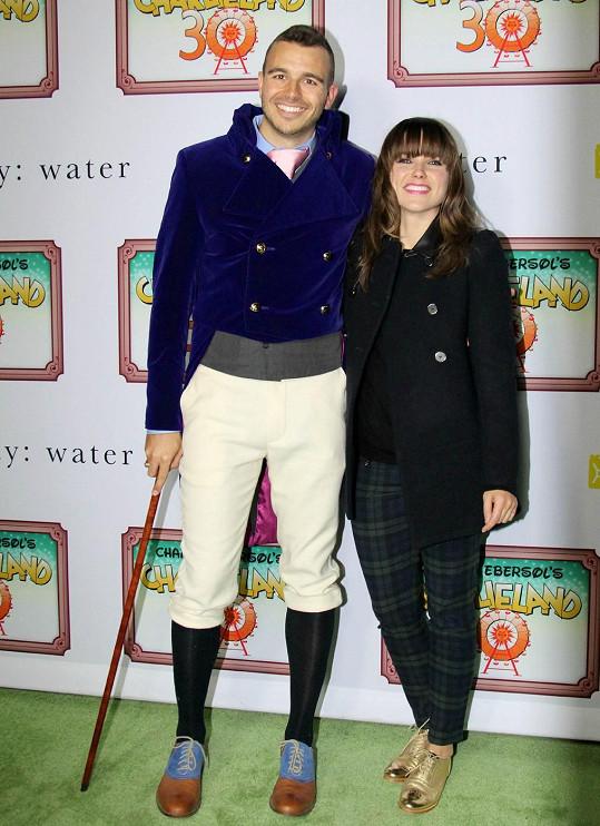 Charlie Ebersol s bývalou přítelkyní Sophií Bush