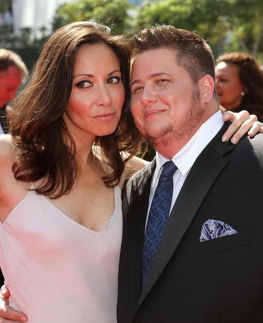 Chaz Bono s bývalou snoubenkou Jennifer Elia