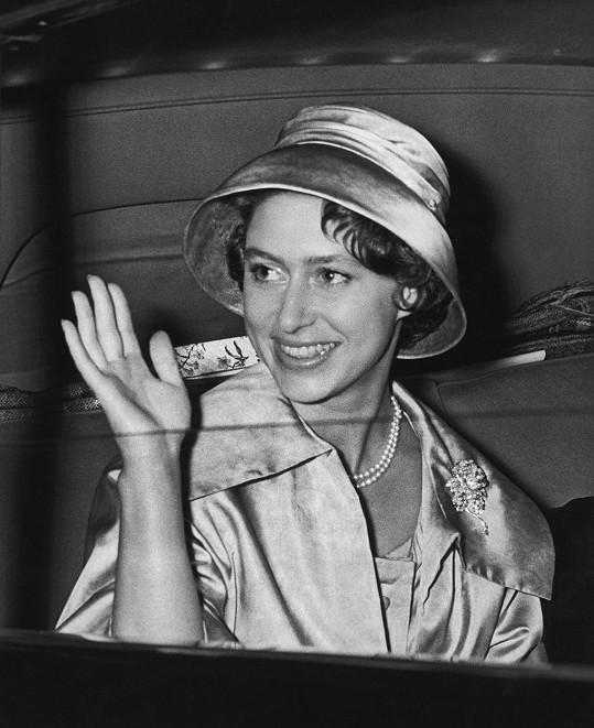 Princezna Margaret zemřela v roce 2002 na následky mozkové mrtvice.
