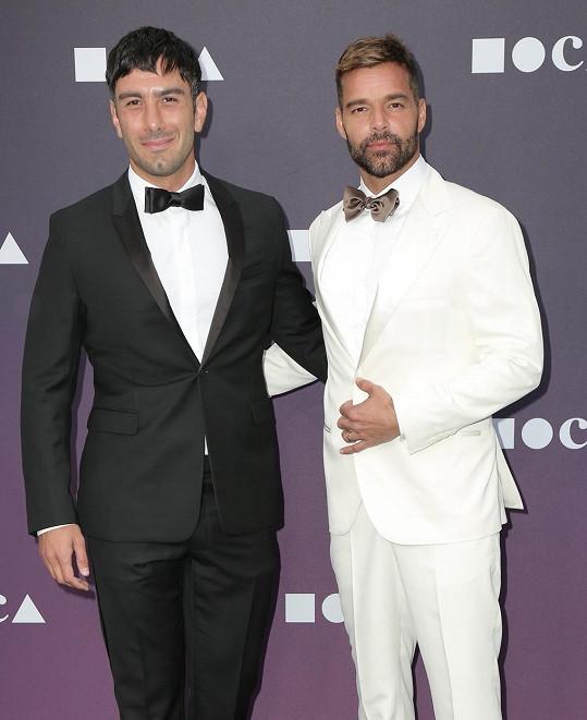 Ricky Martin s manželem Jwanem