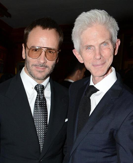 Módní návrhář Tom Ford ztratil životního partnera Richarda Buckleyho.