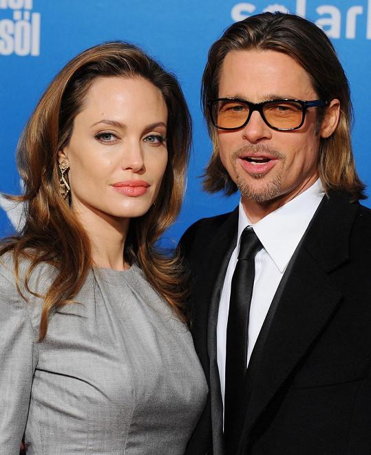 Slavný manželský pár v roce 2012