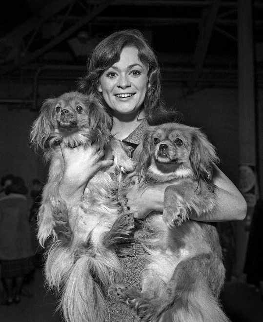Marie se svými psími miláčky (1966)