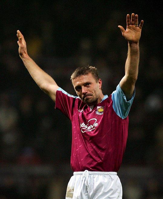 Fotbalový obránce Tomáš Řepka hrál za West Ham United celkem pět let. V Anglii na něj dosud nezapomněli.