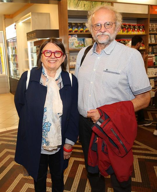 Zuzana Kronerová s manželem