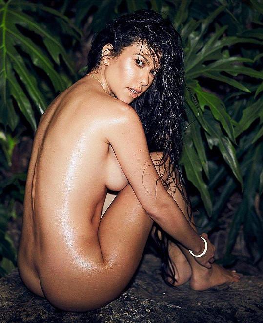 To dokázala i při focení nahých snímků.