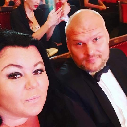 Radim Flender s partnerkou Andreou