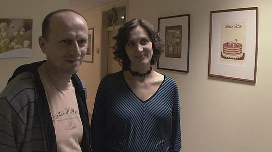 Ester s manželem Zdeňkem Janečkem