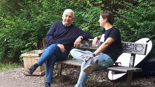 Právě Martin Donutil s otcem v dokumentu vedl dialog.