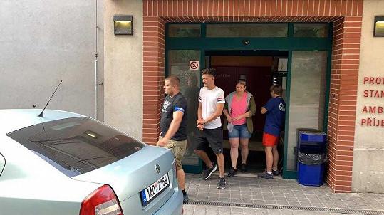 Petr Borkovec strávil noc na záchytce.