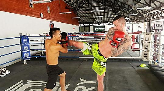 Petr Vágner pojal dovolenou v Thajsku hodně sportovně.