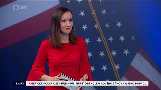 Kateřina dříve působila v České televizi.